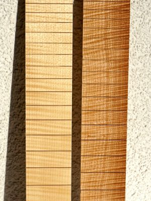 "NEW! 628mm Scale ""Flamed-Maple"" Fretboard"