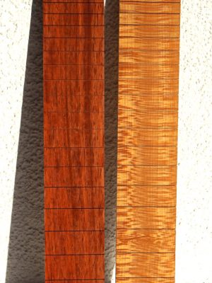 "NEW! 628mm Scale ""Padouk & Planetree"" Fretboard"