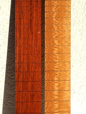"NEW! 648mm Scale ""Padouk & Planetree"" Fretboard"