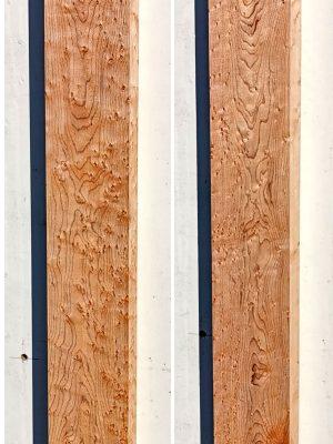 Prem. Birdseye Maple Neckwood Blank, 32mm  (BM-125)