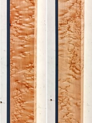 Prem. Birdseye Maple Neckwood Blank, 29mm  (BM-243)