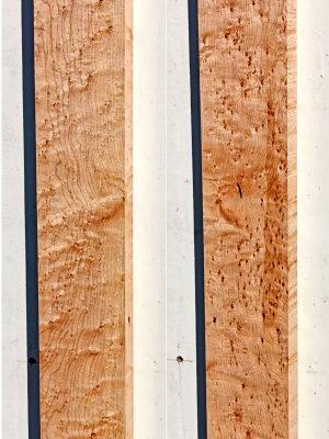 Prem. Birdseye Maple Neckwood Blank, 28mm  (BM-244)