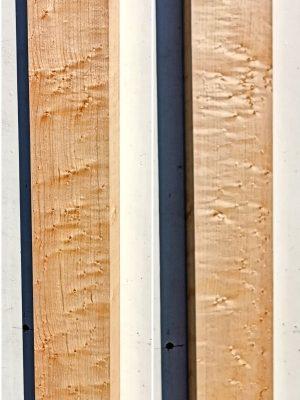 Prem. Birdseye Maple Neckwood Blank, 33mm  (BM-245)