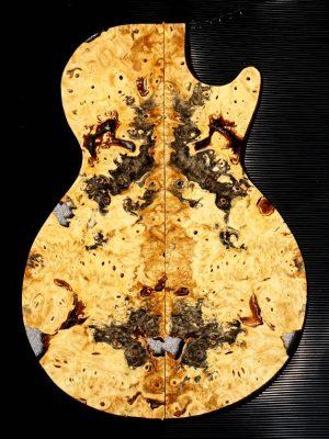 Prem. BUCKEYE BURL Guitar Topset, 6mm    (BUCK-97)