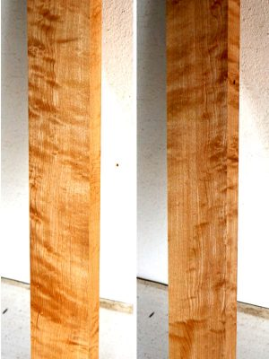 Quilted Maple Neckwood, 32mm (FL-480)