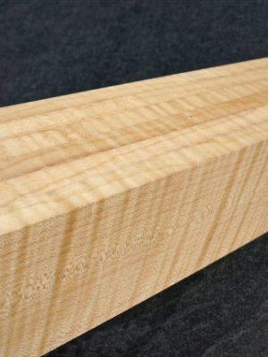 6-fold lam. prem. flamed Maple Neckwood, 78mm  (FL-514)