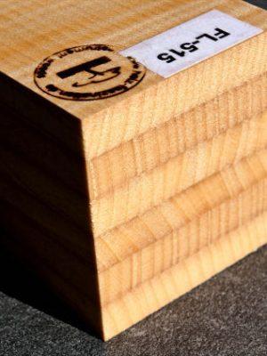 6-fold lam. prem. flamed Maple Neckwood, 78mm  (FL-515)