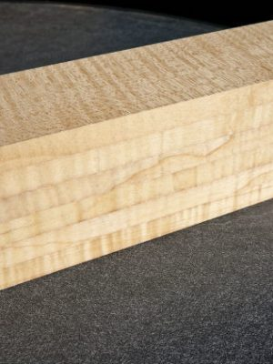 6-fold lam. prem. flamed Maple Neckwood, 78mm  (FL-516)