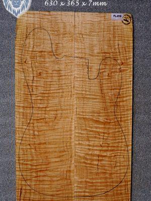 Prem. flamed Maple Guitar Top, 7mm   (FL-519)