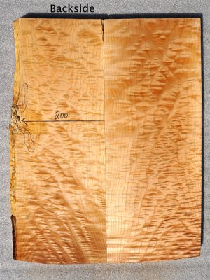 Prem. quilted Maple Guitar Top, 30mm  (QM-707)