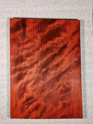 Prem. figured REDWOOD 1pc. Guitar Top, 27mm   (RW-1477)