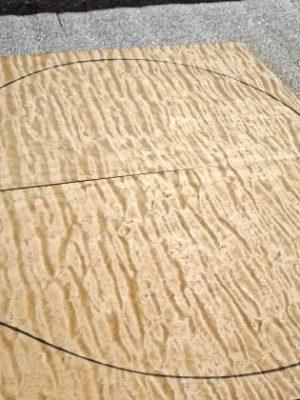 Prem, quilted Maple Top, 7,5mm   (V-8004)