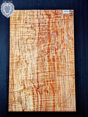 Prem. colorful 1pc. spalted Maple Top, 6,5mm   (V-8175)