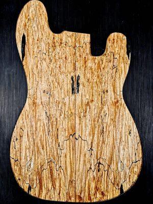Prem. spalted Maple Guitar Top, 8mm   (V-8178)
