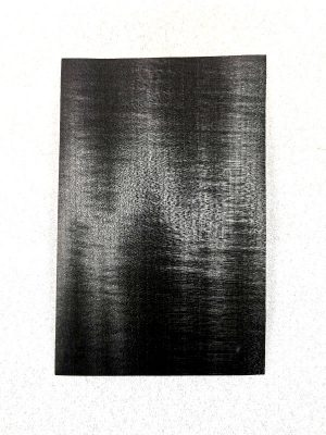 POPLAR Black Headplate VENNEER, 0,6mm     (HPP-100)