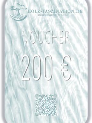200 € Gutschein / Voucher