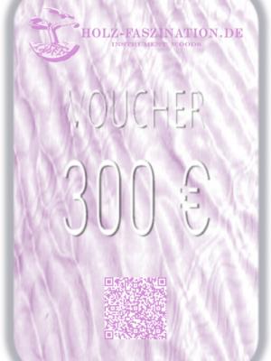 300 € Gutschein / Voucher