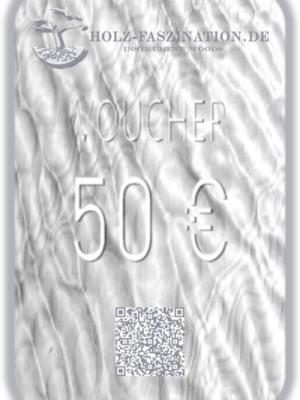 50 € Gutschein / Voucher