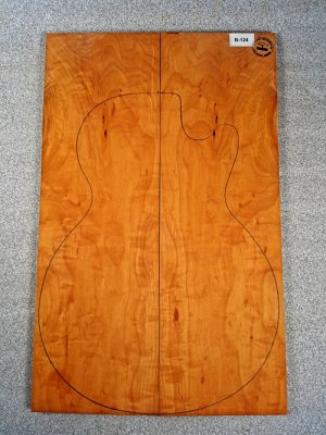 Fig. Pearwood Guitar Top, 10mm  (B-124)