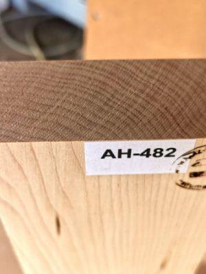 Hardmaple Neckwood Blank, 40mm  (AH-482)
