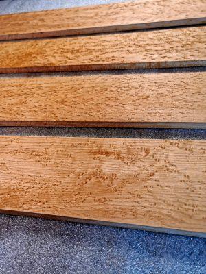 Birdseye Maple Fretboard Blanks (B.15-26-29-50)