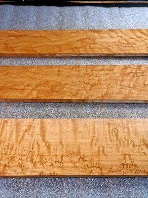 Birdseye Maple Fretboard Blanks (B.7-35-54)