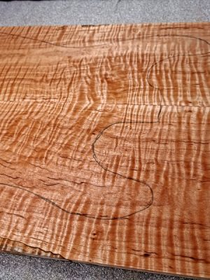 Flamed Maple Guitar Top, 6,5mm  (FL-520)