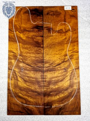 Prem. chinese Golden Phoebe Guitar Top, 4mm  (GP-118)
