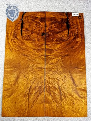 Prem. chinese Golden Phoebe Guitar Top, 4mm  (GP-121)
