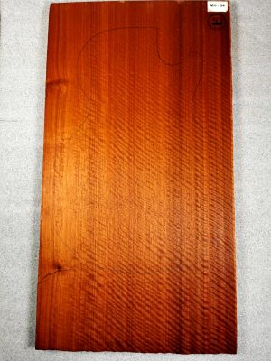 Fig. Sipo (Mahogany) Guitar Top, 18mm  (MH-34)