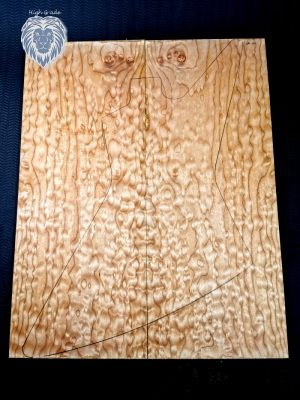 Prem. quilted Maple Guitar Top, 10mm  (QM-100)