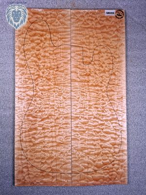 Prem. quilted Maple Guitar Top, 8mm  (QM-693)