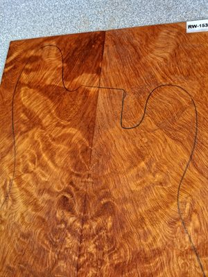 Prem. fig. REDWOOD Guitar Top, 8mm  (RW-1539)