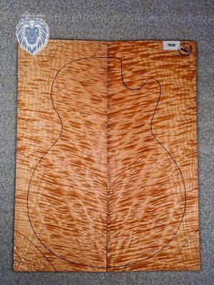 Prem. quilted Maple Guitar Top, 3mm  (V-7830)