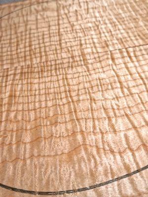 Prem. quilted Maple Guitar Top, 7mm  (V-7843)