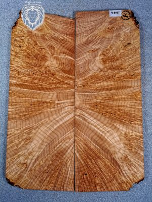 Prem. Maple Burl Guitar Top, 13mm  (V-8107)