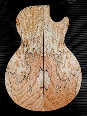 Prem. spalted Maple Guitar Top, 7mm  (V-8113)