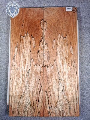 Prem. spalted Maple Guitar Top, 7,5mm  (V-8114)
