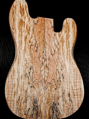 Prem. spalted Maple Guitar Top, 7mm  (V-8117)