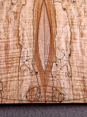 Prem. spalted Maple Guitar Top, 7mm  (V-8162)