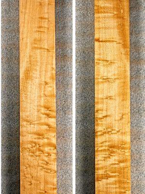 Birdseye Maple Neckwood Blank, 31mm  (BM-231)