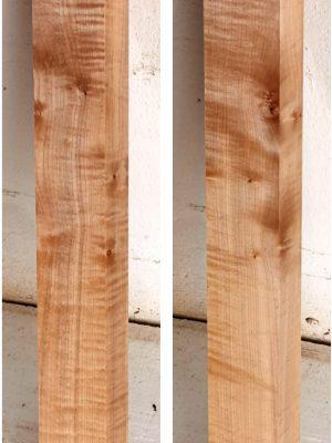 Europ. flamed Maple Neckwood Blank, 48mm  (FL-568)
