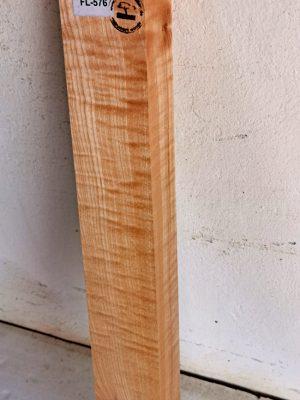 Europ. flamed Maple Neckwood Blank, 48mm  (FL-576)