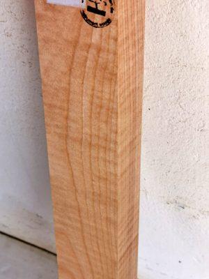 Europ. flamed Maple Neckwood Blank, 48mm  (FL-577)