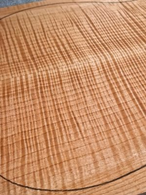 Prem. flamed Maple Guitar Top, 6mm  (FL-592)