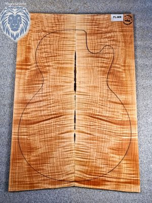 Prem. flamed Maple Guitar Top, 6,5mm  (FL-600)