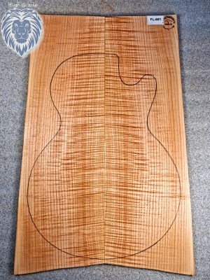 Prem. flamed Maple Guitar Top, 6,5mm  (FL-601)