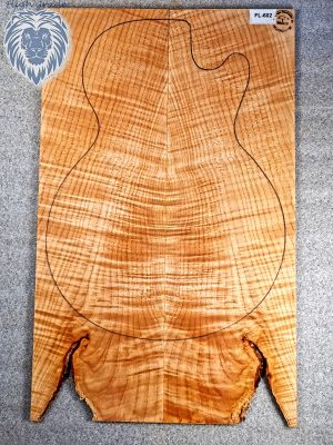 Prem. flamed Maple Guitar Top, 6,5mm  (FL-602)