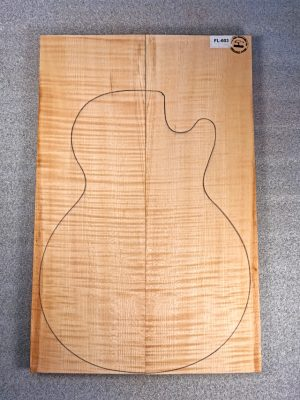 Europ. flamed Maple Guitar Top, 20mm  (FL-603)