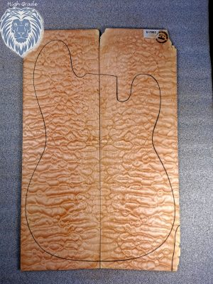 Prem. quilted Maple Guitar Top, 5mm  (V-7992)